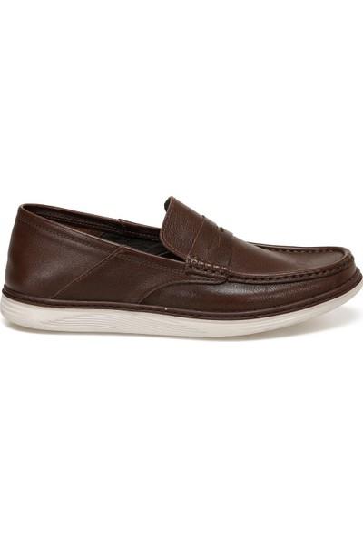 Flogart Gzl-66 Kahverengi Erkek Comfort Ayakkabı