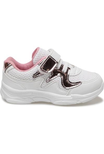 I Cool Cute Beyaz Kız Çocuk Yürüyüş Ayakkabısı