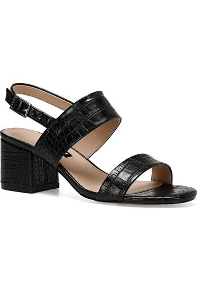 Nine West Loren Siyah Kadın Sandalet