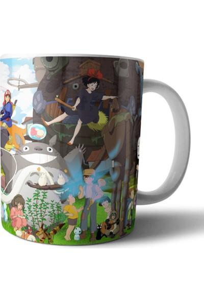 Pixxa Studio Ghibli (Hayao Miyazaki, Totoro, Kiki, Ponyo) Kupa Bardak