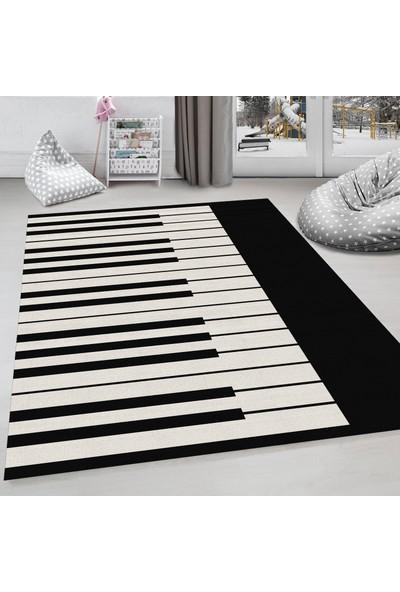 Evdemio Dekoratif Çocuk Odası Halısı Piano Hp-744