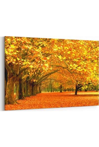 Shop365 Dökülen Yapraklar Kanvas Tablo 30 x 20 cm SA-1037