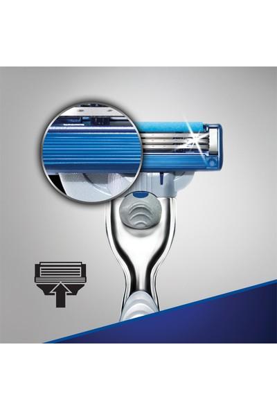 Gillette Mach3 Turbo Tıraş Makinesi + 1 Yedek Bıçak Özel Seri
