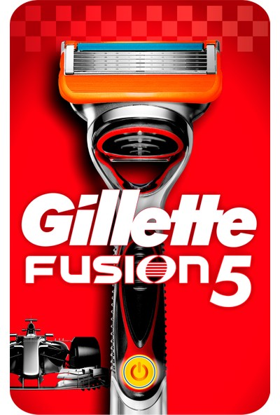 Gillette Fusion Power Tıraş Makinesi Özel Seri