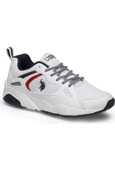 U.S. Polo Assn. Berlıngo Beyaz Kadın Sneaker Ayakkabı