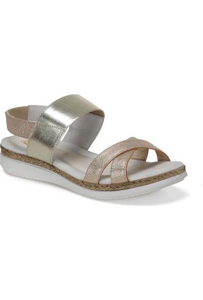 Lina 6995 Çok Renkli Kadın Basic Comfort Sandalet