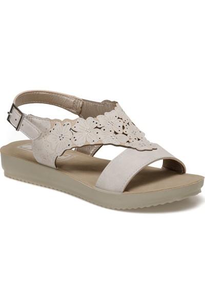 Bm000039 Mavi Kadın Basic Comfort Sandalet