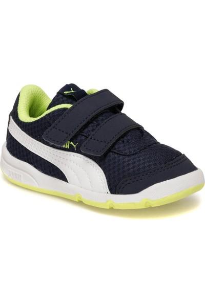 Puma Stepfleex 2 Mesh Ve V Inf Lacivert Erkek Çocuk Koşu Ayakkabısı