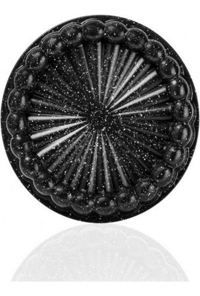 Taç 6569 Döküm Tart Kalıbı Siyah 26 cm