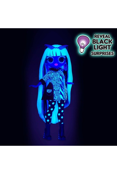 L.O.L Surprise OMG Lights LOL Çok Gizli Bebekler Neon 15 Sürpriz - Groovy Babe