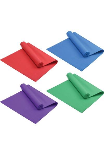 Triathlon T114 Pilates Egzersiz Minderi Yoga Mati 4-5 mm Mavi
