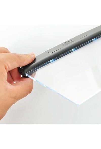 Wlue Kitap Okuma Işığı Göz Koruyucu Şeffaf LED Panel