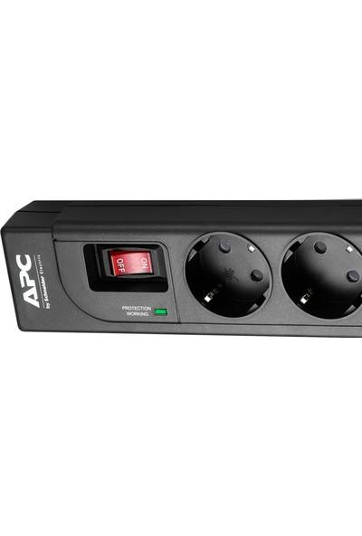 Schneider Electric APC 4 Çıkışlı Akım Korumalı Priz 918J Siyah