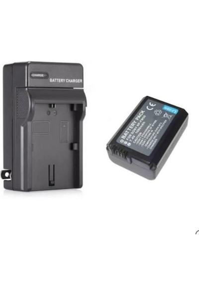 Sanger Sony NP-FW50 Batarya + Şarj Cihazı Seti