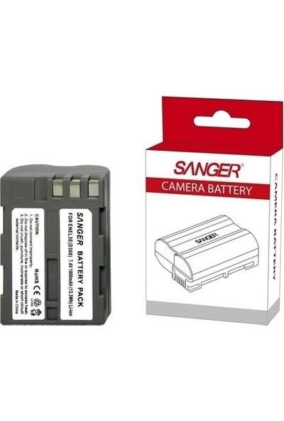 Sanger Nikon EN-EL3E Batarya + Şarj Cihazı Seti