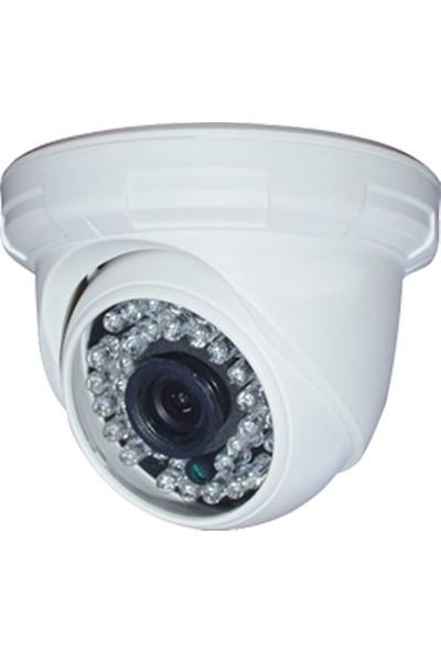 QROMAX PRO-D136B 4'lü 3 MegaPiksel SONY LENS 720P Aptina Sensör Güvenlik Kamerası Seti