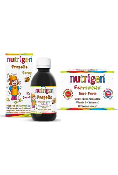 Nutrigen Bağışıklık Güçlendirici 2'li Paket Nutrigen Propolis + Nutrigen Ferromixin