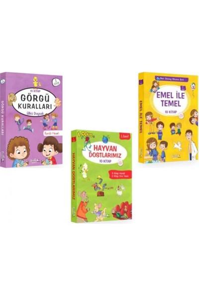 Emel ve Temel Serisi 30 Kitap