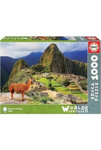 Educa Puzzle 1000 Parça Machu Picchu Peru