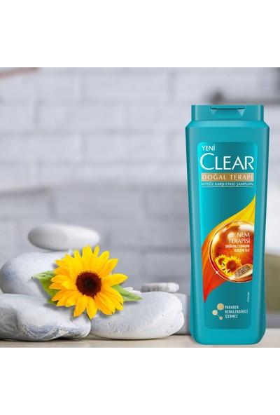 Clear Nem Terapisi Kadın Şampuan 600 ml x4