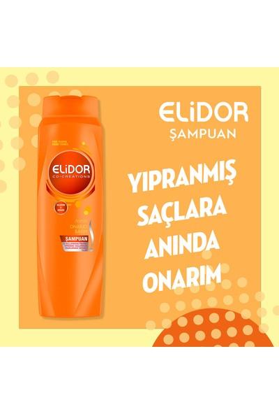 Elidor Anında Onarıcı Bakım Saç Bakım Şampuanı 650 ml x4