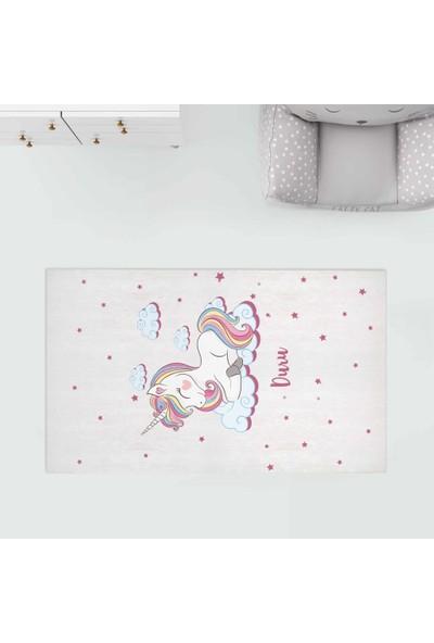 Homamia Kişiye Özel Dijital Baskı Halı Unicorn 80 x 100 cm