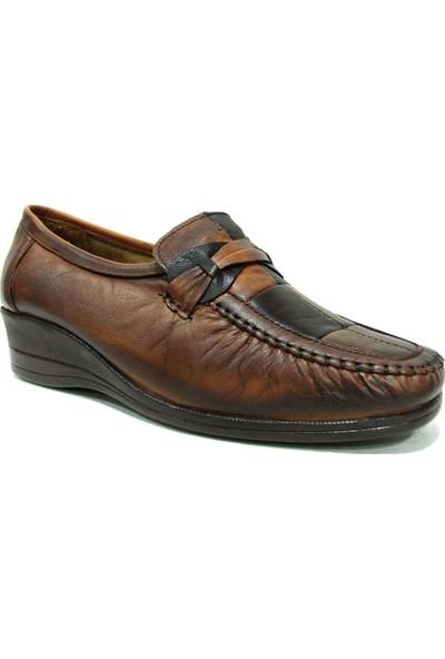 Filik 104 Kahverengi Comfort Kadın Ayakkabı