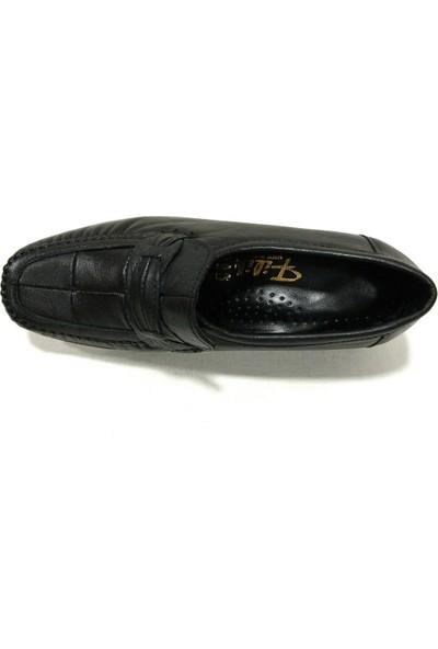 Filik 104 Siyah Comfort Kadın Ayakkabı