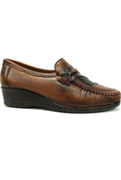 Filik 105 Kahverengi Comfort Kadın Ayakkabı
