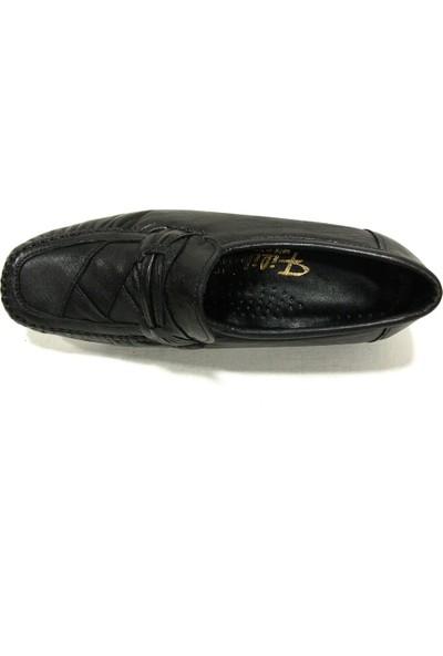 Filik 105 Siyah Comfort Kadın Ayakkabı