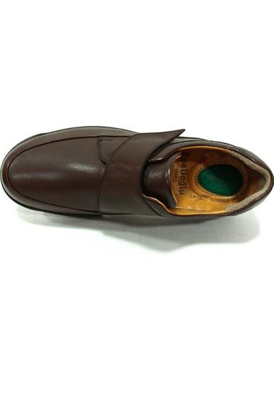 Egelioğlu 65397 Kahverengi Cırtlı Jelli Comfort Erkek Ayakkabı