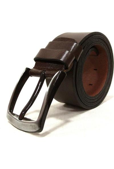 Shoepi 381 Kahverengi Deri Erkek Kemer