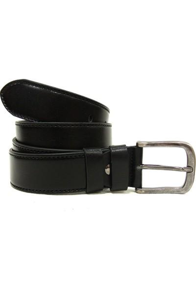 Shoepi 013 Siyah Deri Klasik Erkek Kemer
