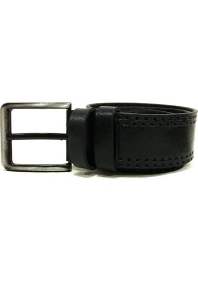 Shoepi 015 Siyah Deri Klasik Erkek Kemer