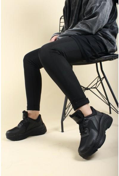 Oksit Sanzelize Rozella Kalın Taban Kadın Sneaker