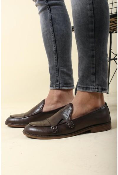 Oksit Wolf 059 Tokalı Klasik Erkek Ayakkabı