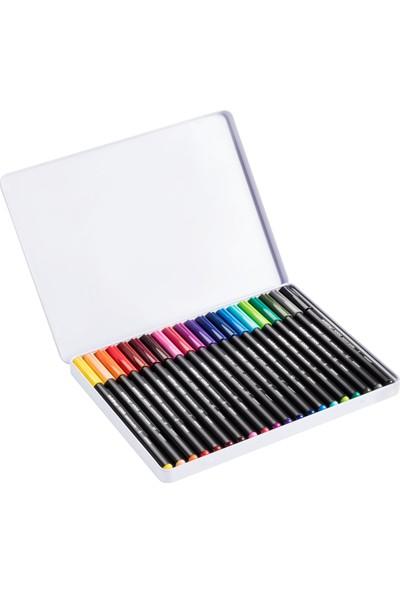 Edding 1300 Keçeli Kalem 20'li Metal Kutu