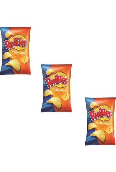 Ruffles Peynir ve Soğan Çeşnili Cips 98 gr x 3 Adet