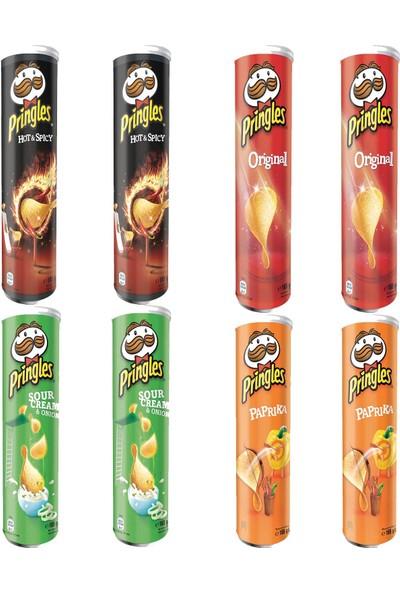 Pringles Süper Paket 8'li 165 gr
