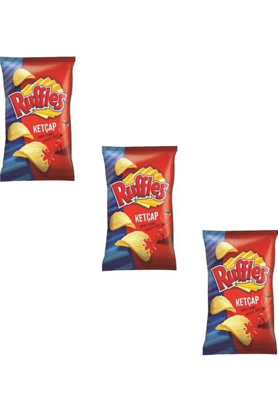 Ruffles Ketçap Çeşnili Cips 98 gr x 3 Adet