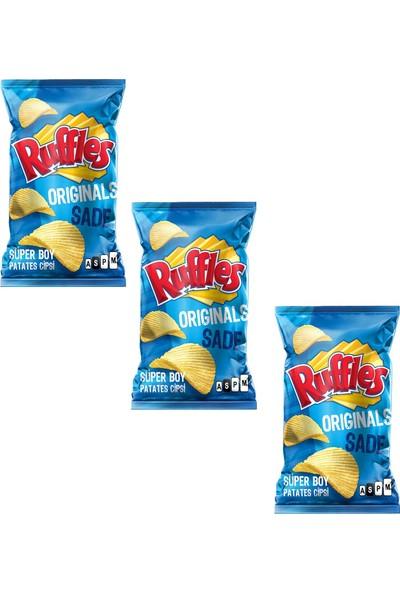 Ruffles Original Patates Cipsi 103 gr x 3 Adet