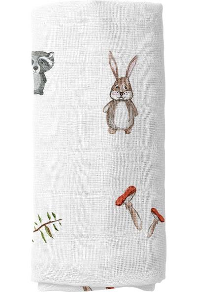 Parilico Yaramaz Tavşan Müslin Örtü