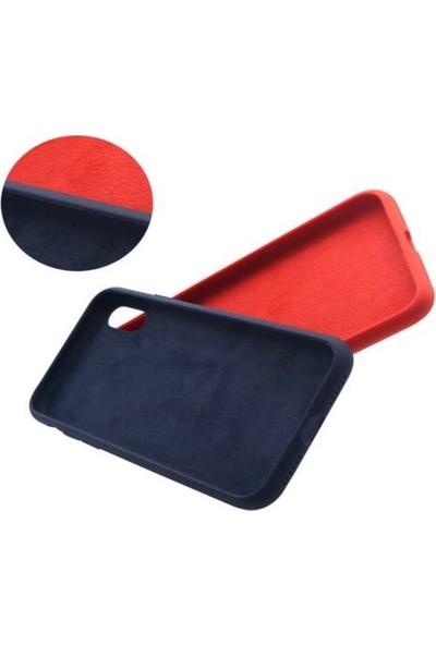 Mahzen Apple iPhone 11 Logosuz Lansman Kılıf Kırmızı