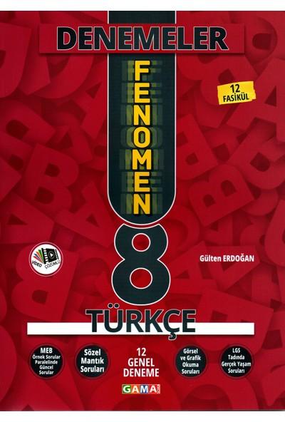 Gama Yayınları 8. Sınıf Fenomen Türkçe Yeni Nesil 12 Genel Deneme 2020