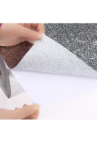 Mv Raf ve Dolap İçi Tezgah Üstü Yapışkanlı Alüminyum Folyo 100 x 120 cm