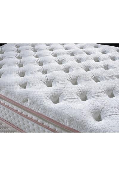 Royal Bedding Natural Full Yaylı Yatak Tavşan Tüyü Kumaş 160 x 200 cm