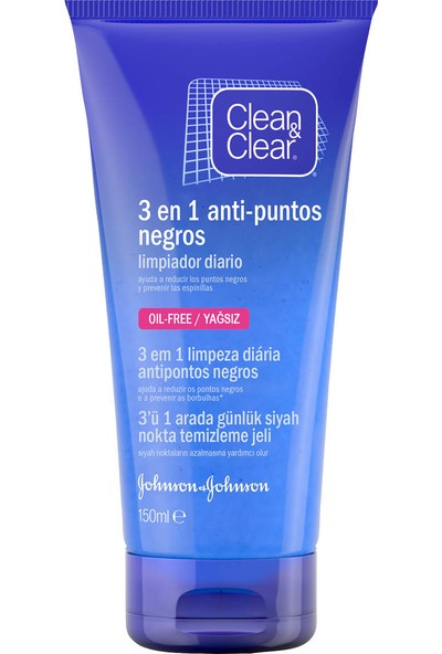 Clear&Clean Siyah Nokta Temizleme Jeli 150 ml