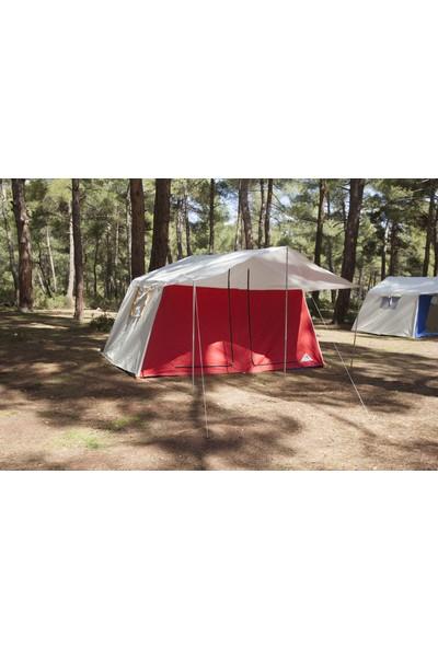 Uludağ Çadır Iki Odalı Kamp Çadırı - Kırmızı