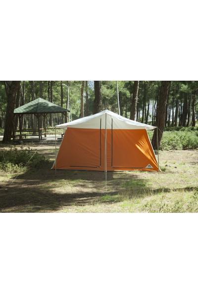 Uludağ Çadır Iki Odalı Kamp Çadırı - Turuncu