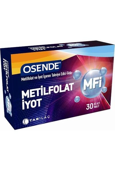 Osende Metilfolat Iyot 30 Tablet
